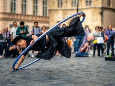 J(us) – A Cyr-Wheel Dance