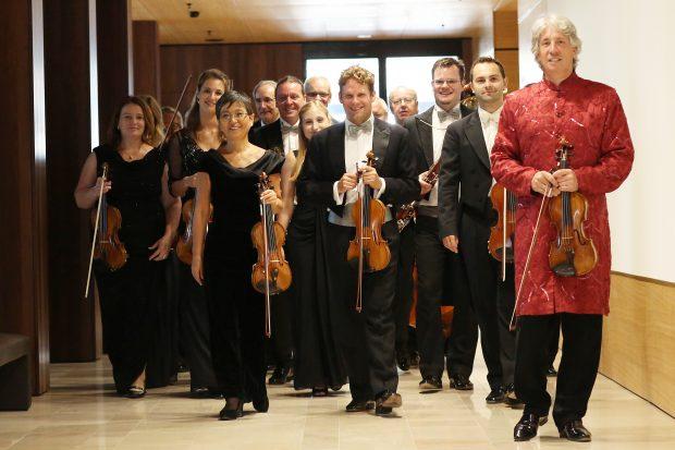 """Johann Strauss Ensemble – Kleines Konzert nach """"Die Frau ohne Schatten"""""""