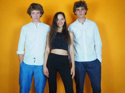 Lena Hoffelner sings with Ed Win & Tonfried